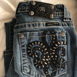 Miss Me Embellished Jeans New 27